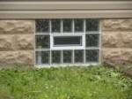 Eastern Glass Block Basement Window
