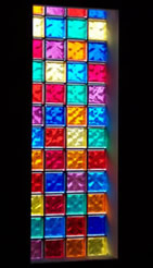 Colored Glass Block modern design