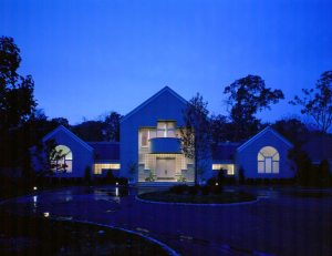Modern Exterior Glass Block
