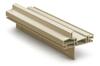 LightWise vinyl frame sandstone