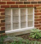 Eastern Glass Block Basement Window Flood Resistant
