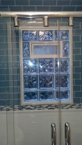 Eastern Glass Block Basement Window with Vent