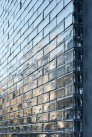 House facade glass block close_up