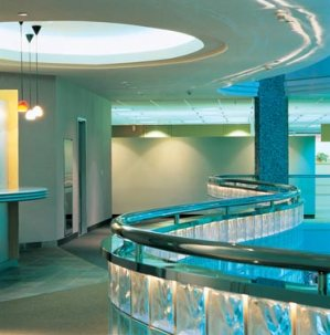 Commercial Glass Block architecture