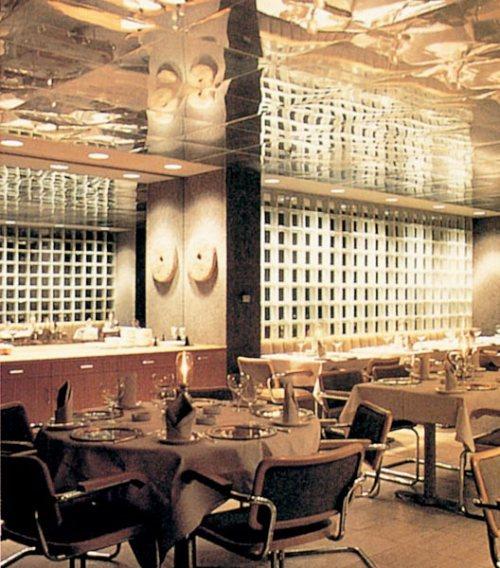 Commercial Shazan Restaurant glass block