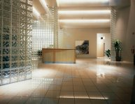 Commercial Signtech Offices glass block