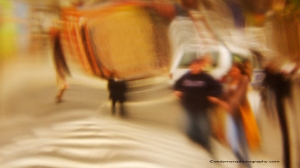 08_Andy Mars_Subway Station Series_Couple Walking To Subway