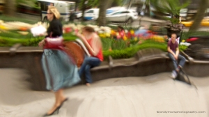 11_Andy Mars_ Subway Station Series_Woman In Blue Skirt