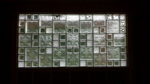 Glass Block Window Collage