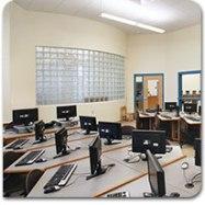 Glass Block in schools