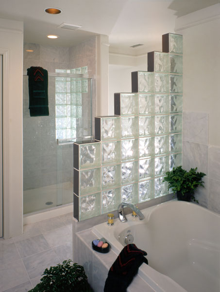 Bathroom Showers Are Getting Bigger And Brighter Glass Block Blogger