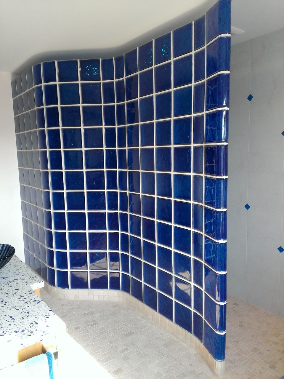 How To Spice Up Your Home With Color Glass Blocks Glass Block Blogger
