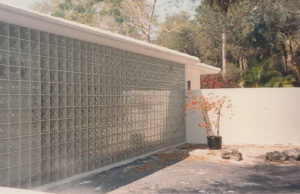 Fire Rated Glass Block Wall