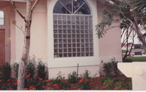 Beautiful And Secure Glass Block Window