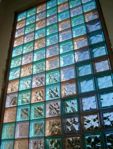 Glass Block Color Window