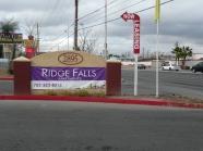 Ridge Falls Sign