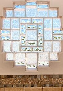 Glass Block Window Collage