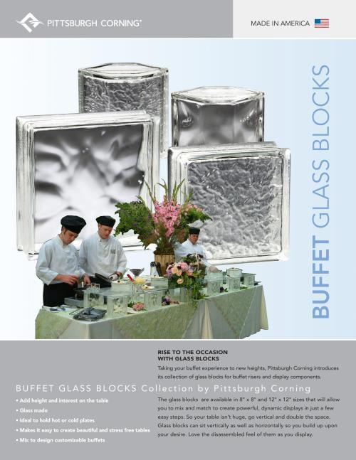 Buffet Glass Block