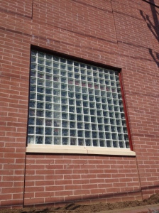 Fire Rated Glass Block Window