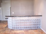Glass Block Bar